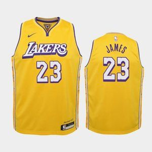 Women Los Angeles Lakers LeBron James City Jersey